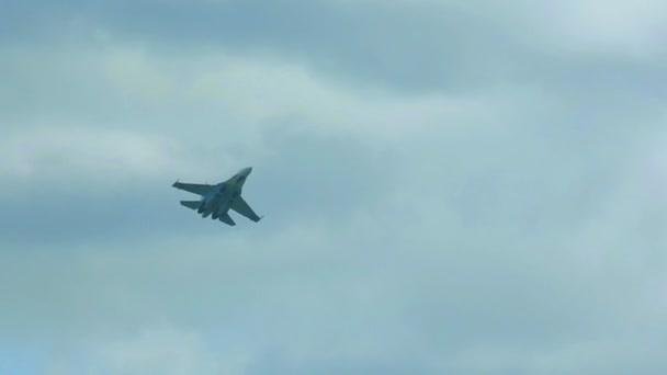 Caza Sukhoi — Vídeo de stock