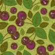 Royalty-Free Stock  : Vector grunge cherry pattern