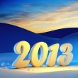 New year 2013 — Stock Photo #14166834