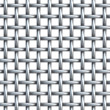 Seamless texture of metal net — Foto Stock