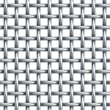 Seamless texture of metal net — Stockfoto