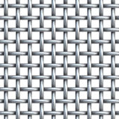 Seamless texture of metal net — Stock Photo