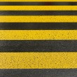 Stock Photo: Yellow road marking