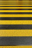 Yellow road marking — Stock Photo