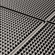 Metal grid backgound — Stock Photo