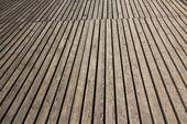 Terraza de madera antiguo — Foto de Stock