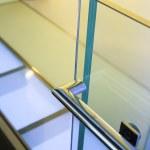 Modern glass railing — Stock Photo #30461941