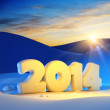 New year 2014 — Stock Photo #32151643