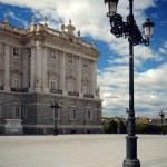 Palace Real de Madrid, Spain — Stock Photo #3596558