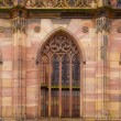 Cathedral of Notre-Dame at Strasbourg, France — Stock Photo