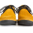 Male modern style moccasin — Stock Photo
