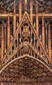 Katedra notre-dame w strasburg, francja — Zdjęcie stockowe