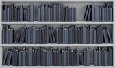 Bookcase with the books — Foto de Stock