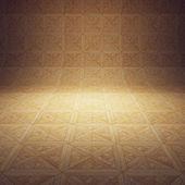Interior de madera — Foto de Stock