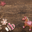 Stock Photo: Gingerbread cookies horse