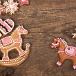 Stock Photo: Traditional gingerbread cookies