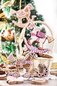 クリスマスのクッキー — ストック写真