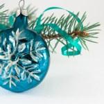 Snowflake Christmas ball — Stock Photo #1742395
