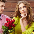 Young couple having argument — Stock Photo #12758685
