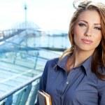 Portrait Of Female Estate Agent In Office — Stock Photo #13047097