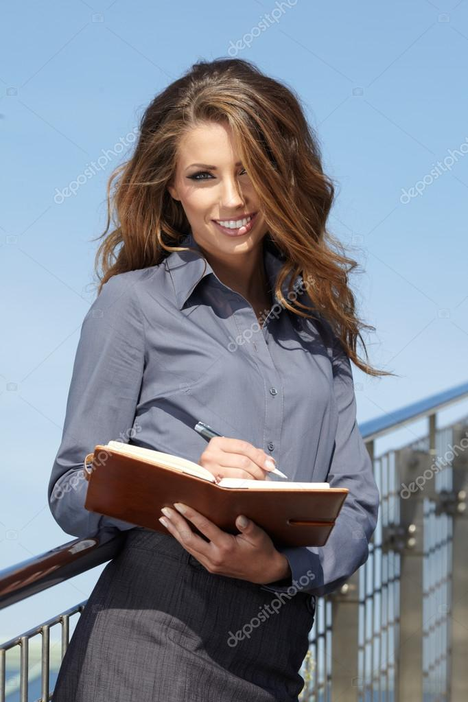 Portrait Of Female Estate Agent In Office  — Stock Photo #13041335