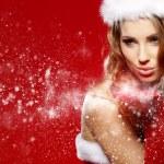 Christmas woman — Stock Photo #13878217