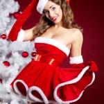 Christmas Girl — Stock Photo #14944099