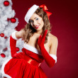 Stock Photo: Christmas Girl