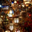 Arabic lamps and lanterns — Stock Photo
