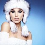 Winter woman portrait — Stock Photo #16637157