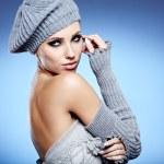 Winter woman portrait — Stock Photo #16637389