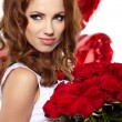 The Valentines day celebrities - Stock Photo