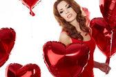 The Valentines day celebrities — Stock Photo