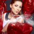 Foto Stock: The Valentines day celebrities