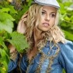 Beautiful blonde portrait — Stock Photo