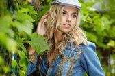 Beautiful blonde portrait — Stockfoto