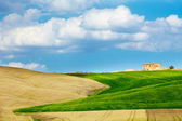 View of typical Tuscany landscape — Stock Photo