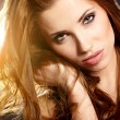 Beautiful woman portrait - Stockfoto