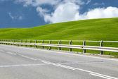 Tuscany's road — Stock Photo