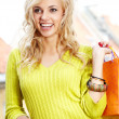 Shoppinhg woman - Stockfoto