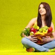 Healthy eating, healthy life — Stock Photo