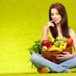 Stock Photo: Healthy eating, healthy life