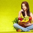 Foto de Stock  : Healthy eating, healthy life