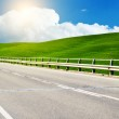 Asphalt road in Tuscany Italy — Stock Photo #26664551