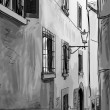 Street in Tuscany -sketch  illustration  — Stock Photo