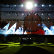 Stock Photo: Preparing the Main Stage on the rock concert