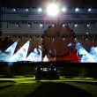 Preparing the Main Stage on the rock concert — Stock Photo