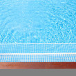 Detail of beautiful swimming pool.  — Stock Photo