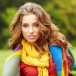 Autumn woman — Stock Photo #31517999