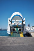 Transporte en el mar - gran ferry — Foto de Stock